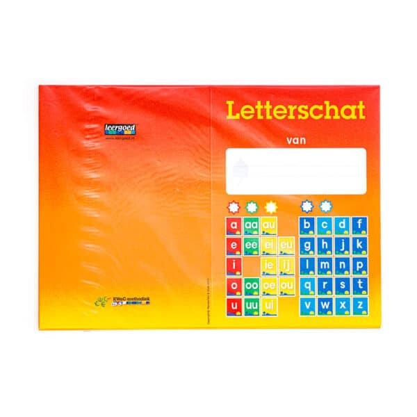 Lettergroeiboek: Letterschat