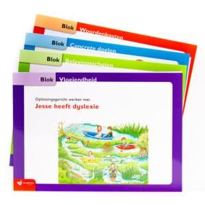 Scheurblokken jesse heeft dyslexie