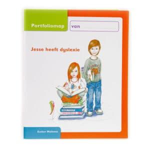 Portfoliomap Jesse heeft Dyslexie