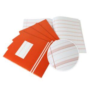 Schrijfschriften Schrijfvriend rood 5 stuks