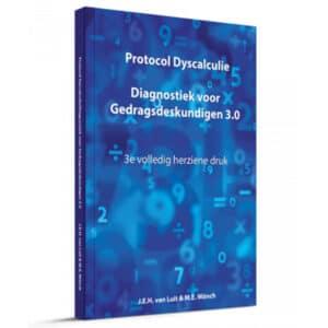 Protocol dyscalculie Diagnostiek voor gedragsdeskundigen 3.0 boek