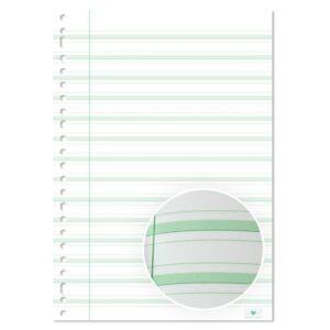 Ringbandpapier De Schrijfvriend Groen